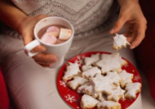 Como sobre Comer Menos y Disfrutar más las Fiestas