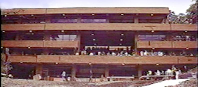 Inauguración edificio académico 1987
