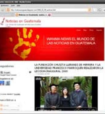 La fundación Chusita Llerandi de Herrera y la Universidad Francisco Marroquin realizaron la leccion inaugural 2008