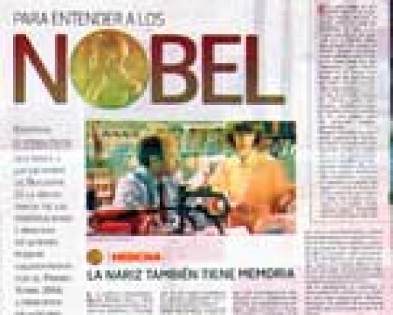 Para Entender a los Nobel – Medicina – La Nariz también tiene Memoria