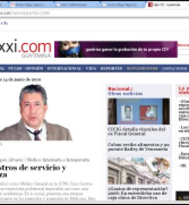Dr. Edgar Lopez en Siglo XXI